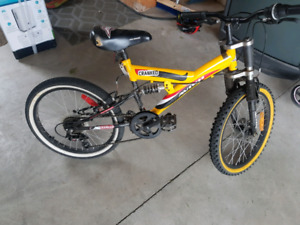 "16"" Bike with gears and hand brakes"