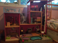Incredible Barbie doll house!