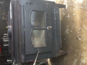 Complete wood stove package