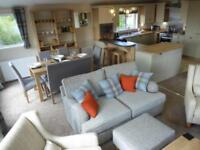 Stunning lodge with sea views - available now as 2 or 3 bedroom, St Helens