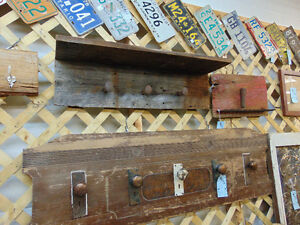 Rail Spike Barn Board Coat Rack London Ontario image 2
