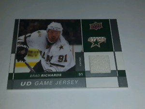 Brad Richards 2009-10 Upper Deck hockey card