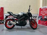 2019 MT 125 ideal learner bike LOW MILES
