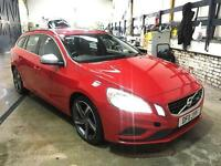 2011 VOLVO V60 1.6D DRIVe R-Design START STOP 1 OWNER FROM NEW CAMBELT DONE!!!