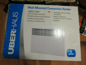 Brand new convection wall heater