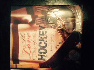 THE LOVE OF HOCKEY.' Hardcover Book