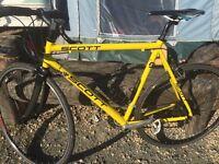 16 speed road bike 56cm frame