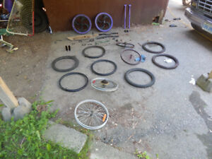 bmx bike scooter parts