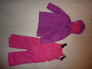 Manteau d'hiver fille - 5 ans - impeccable