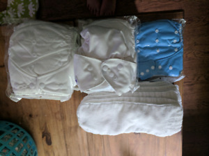 9 cloth diapers