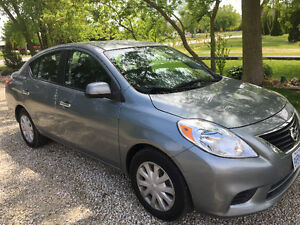 2012 Nissan Versa 1.6 SV Sedan safetied and e tested