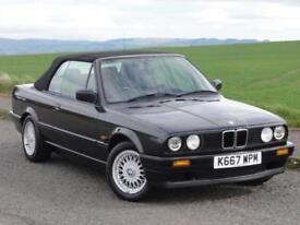 BMW E30 318i Lux Convertible, Manual, 1 Owner, 1993 / K Reg, FBMWSH, 77k Miles