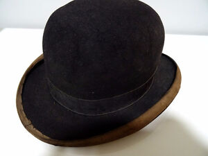 early BOWLER DERBY gent's hat BOND Calhoun's Stores STEAMPUNK Kitchener / Waterloo Kitchener Area image 6