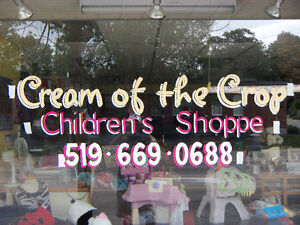 Sign and Window Advertising / Hand Painted Signs / Window Art Stratford Kitchener Area image 10