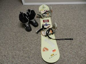 Mens Northwave Snowboard Boots Size 10.5 and Smith Snowboard