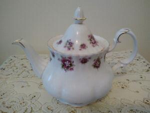 SWEET VIOLETS Royal Albert Tea Set