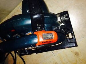 Resipricating Saw, Black and Decker, Great Condition