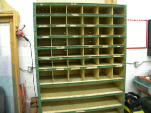 Metal Shop Storage Cabinet Shelving unit
