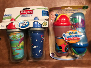 Hangers. Silly cups brand new in package