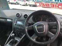 2008 58 Audi A3 Cabriolet 1.9TDI 2009MY Turbo Diesel 5 Speed Manual
