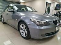 BMW 5 Series 2.0 520d SE Grey Auto Bluetooth DIESEL WARRANTY 12 MONTHS MOT