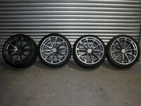 "20"" Staggered Ispiri FFR2 Alloy wheels and tyres 5x112"