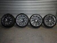 "20"" Ispiri FFR2 Alloy wheels and tyres 5x112"