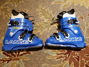 LANGE 19.5 ski boots.  Great condition. $40