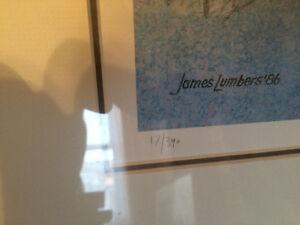 James Lumbers Ltd Ed Prints On The Beat Return County Kitchen ++ Cambridge Kitchener Area image 2