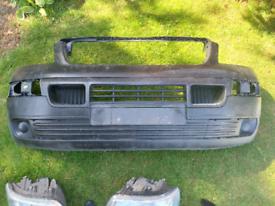Vw t5 pre facelift front end