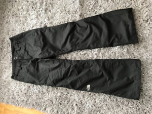 North Face Snow Pants- women's size small