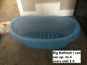 Bathtub and potty for sale