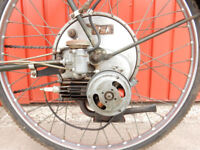 BSA WINGED WHEEL CYCLE ATTACHMENT 35cc 1954