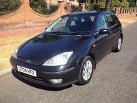 2004 Ford Focus 1.8 i 16v Ghia 5dr ## VERY GOOD CAR ## LONG MOT ##
