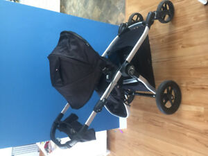 Baby Jogger City Select with Chicco Keyfit 30 car seat, 2 bases