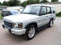 2004/04 Land Rover Discovery 2.5Td5 ( 7st ) auto ES Premium