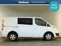 2017 Ford Transit Custom 2.0 TDCi 170ps Double Cab Limited Short Wheelbase L1H1