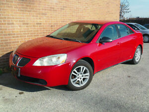2006 Pontiac G6 Sedan **CERTIFIED AND EMISSION TESTED**