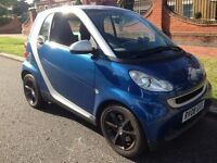 2008 SMART CAR FORTWO COUPE AUTO # 1 YEARS MOT # LEATHER SEATS # VERY CLEAN# HPI CLEAN ##