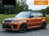 2018 Land Rover Range Rover Sport 5.0 P575 V8 SVR Auto 4WD (s/s) 5dr
