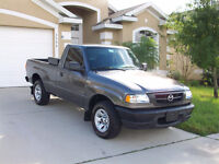 Small 4 cylinder pick-up truck