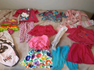 Huge lot 18 month/24 month/2T girls clothes