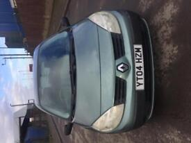 Renault Scenic 1.6 petrol 04 plate