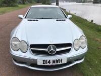 2002 02 MERCEDES-BENZ SL 5.0 SL500 2D 306 BHP