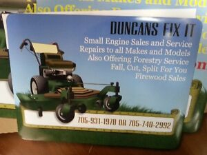lawn mower  tune up season is here