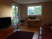 Furnished 2 bdr condo neat Montreal Rd ans St-Laurent Blvd.