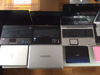 Joblot of 34 working laptops
