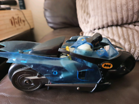 Dc comics batman friction powered motorcycle