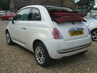 2011 Fiat 500C 1.2 LOUNGE 3d 69 BHP Convertible Petrol Manual