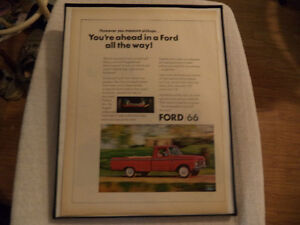 OLD CLASSIC CAR ford & chev PICKUP ADS Windsor Region Ontario image 5
